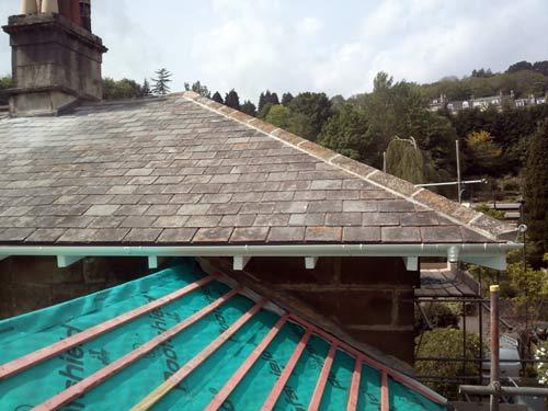 Roof repairs in Bath